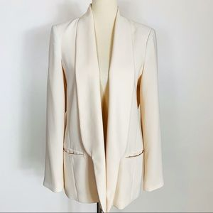 Mural Women's Cream Blazer Size Large